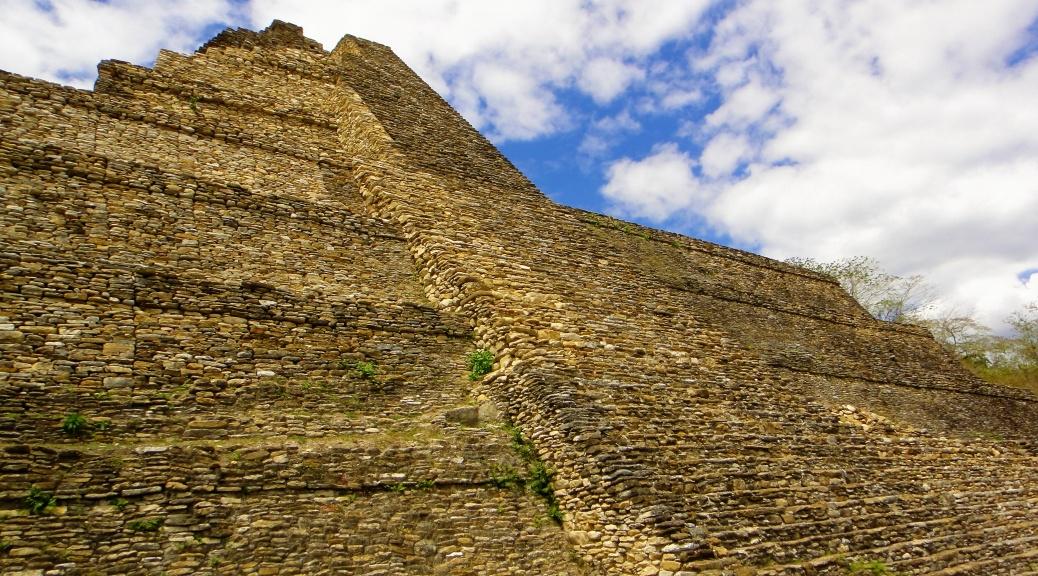 Majańska piramida w Meksyku