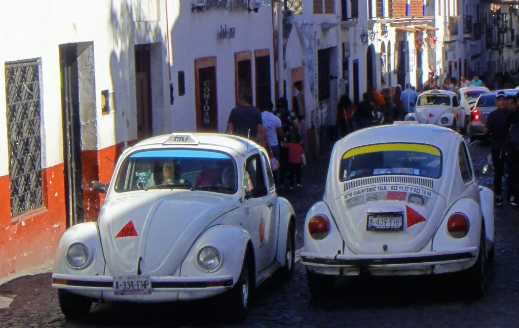 wycieczka do meksyku na sylwestra taxówki w taxco