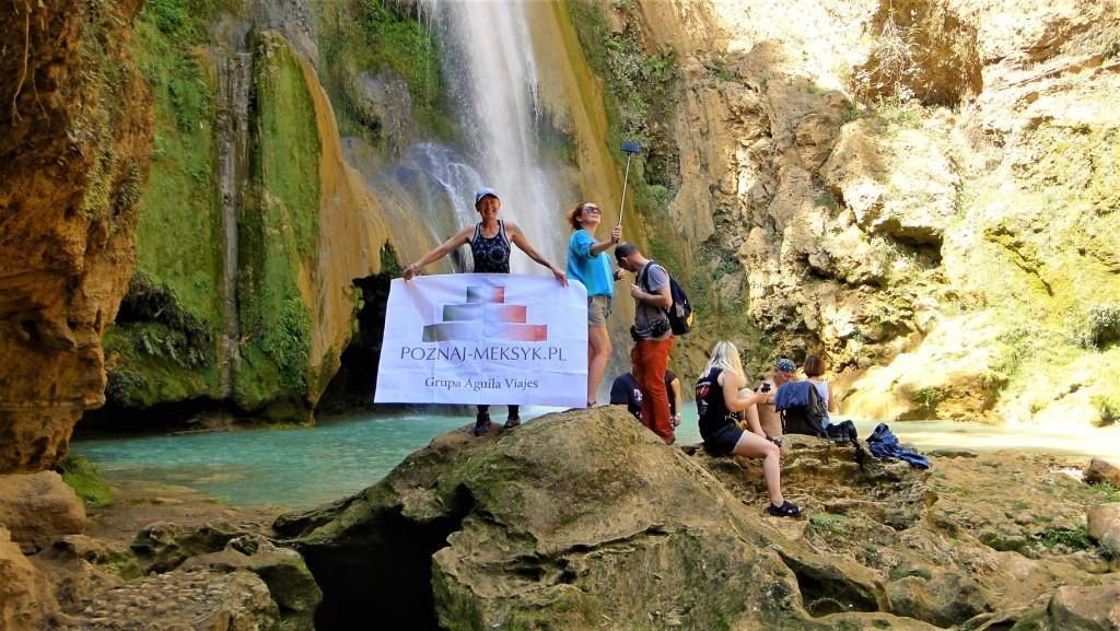 wodospady - wycieczka do Meksyku