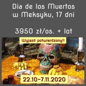 Wyprawa dia de los muertos 2020