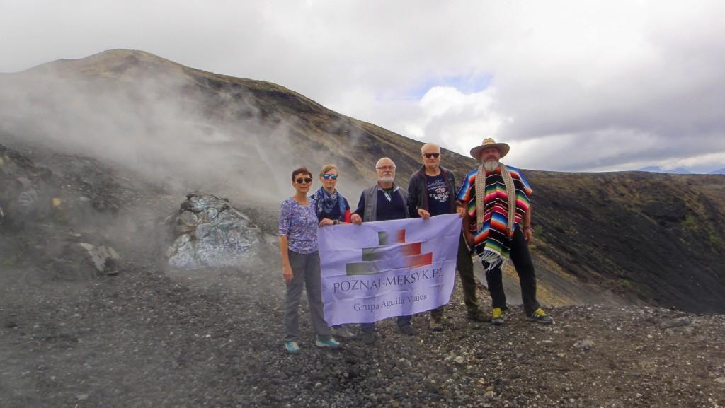 Na szczycie wulkanu w Meksyku