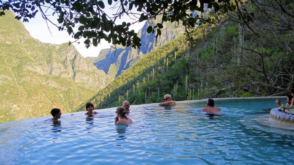 Kąpieliska termalne w Meksyku